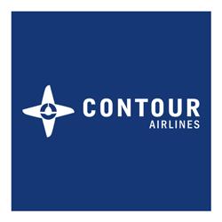 Contour reversed logo