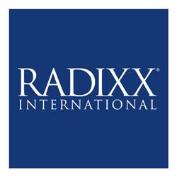 Radixx reversed logo