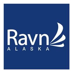 Ravn reversed logo
