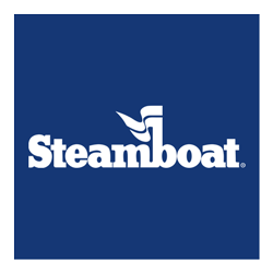 Steamboat reversed logo